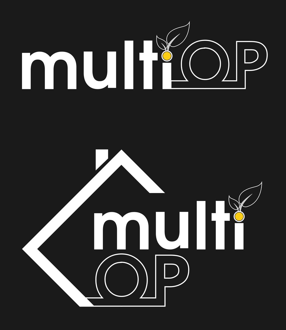 MultiOp logo - negativ