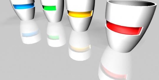 Oblikovanje skodelica