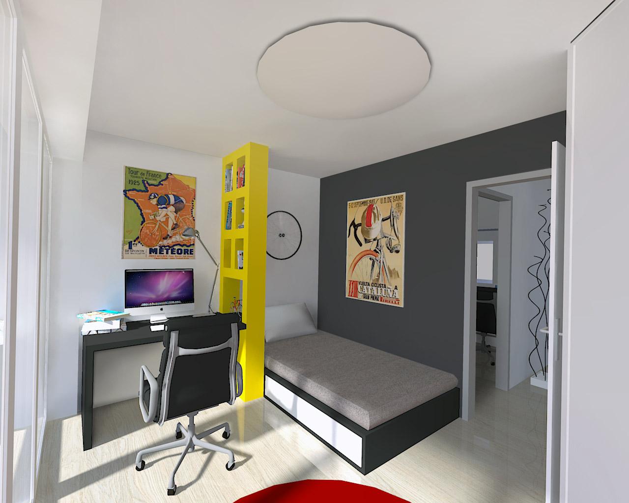 Mladinska soba-enodružinska hiša